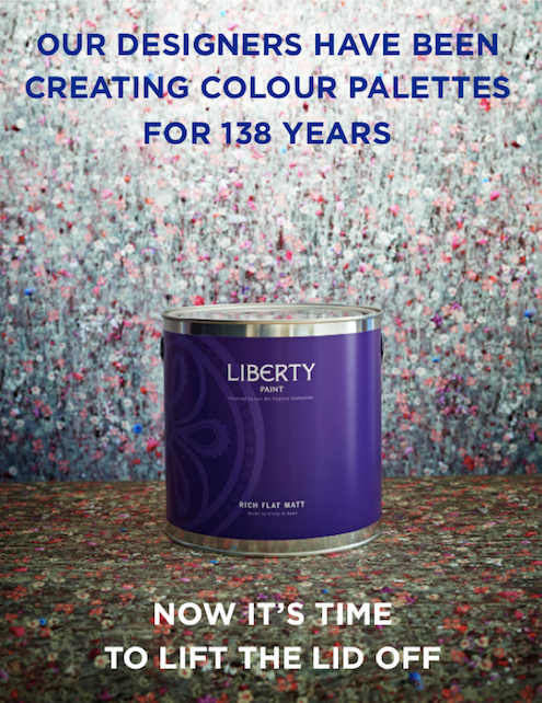 Liberty Paint Ad