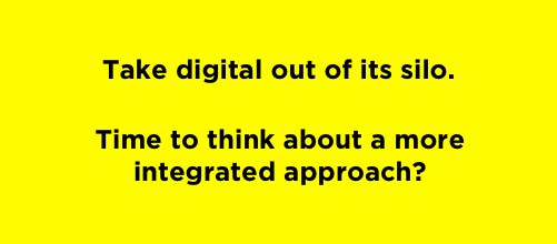 """Does 2016 mark the end of """"Digital Marketing""""?"""