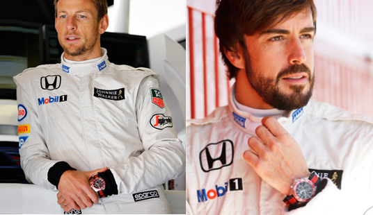 Button : Alonso TAG Brand Ambassadors